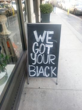 The perfect NY signage